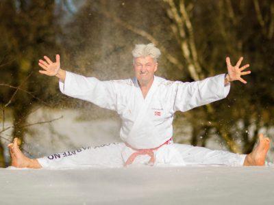 Judoka hohes Alter
